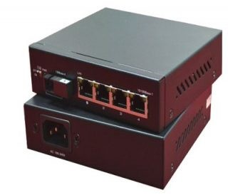 5 Port Ethernet Switch with one-key port isolation