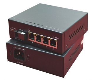 5-Port Ethernet Switch, with DIP switch, one-key port isolation