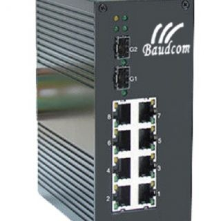 Unmanaged Din-rail Industrial poe Ethernet Switch