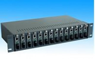 Unmanaged Chassis Media Converter